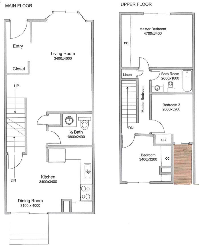 Floor Plans Rates Hunter Estates Housing Co Operative